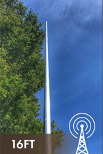 Load image into Gallery viewer, 16' HF Vertical Antenna, No Radials 160-6M + LDG RT-100 ATU