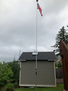 customer, review, dx, antenna, hoa, vertical antenna, ham radio, force 12, greyline, w6nbc