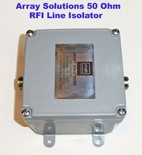 Array Solutions 5-10 kW RF Choke for Greyline DX Vertical & DX Flagpole Antenna
