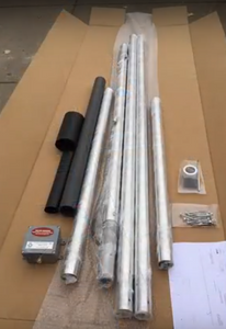 shipping, flagpole, antenna, vertical dipole, hoa, flagpole antenna, vertical dipole, force 12