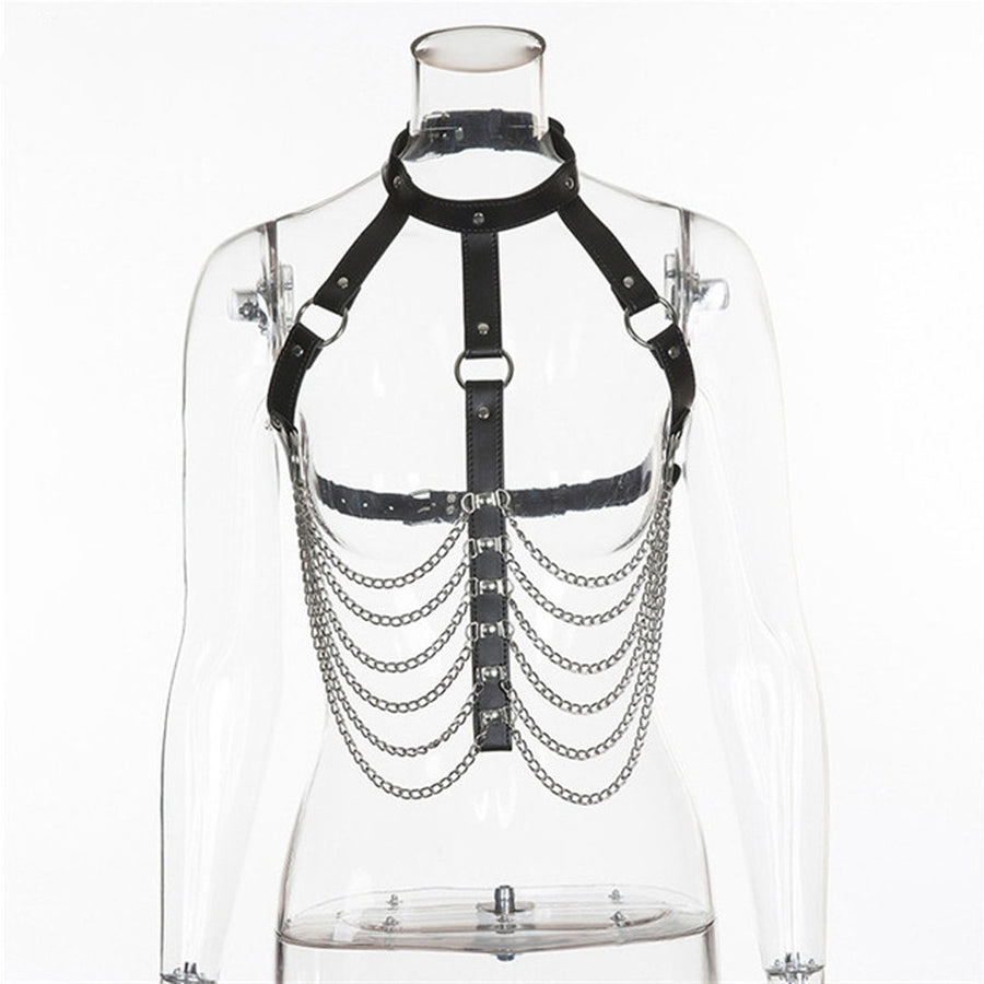 Hollow Out Chain Harness