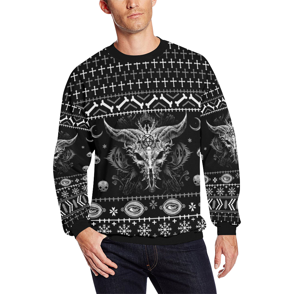 Satanic Christmas Sweater.Satan Christmas Sweatshirt
