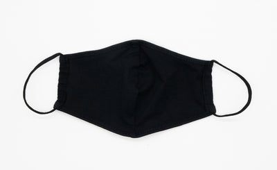 REUSABLE COTTON MASK (BLACK)