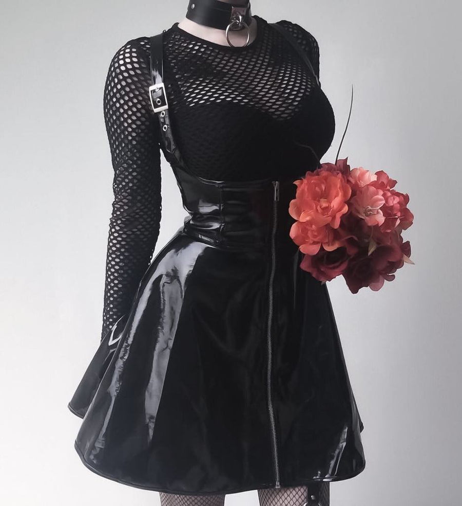 Blackmeoww Goth Women Bellamina Corset Dress - Black S To 2XL