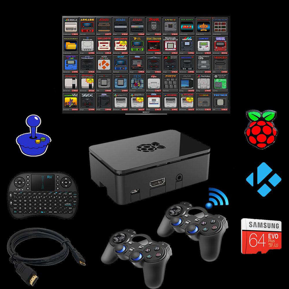 Cool RetroPie Emulation Console Game System 30,000 Games