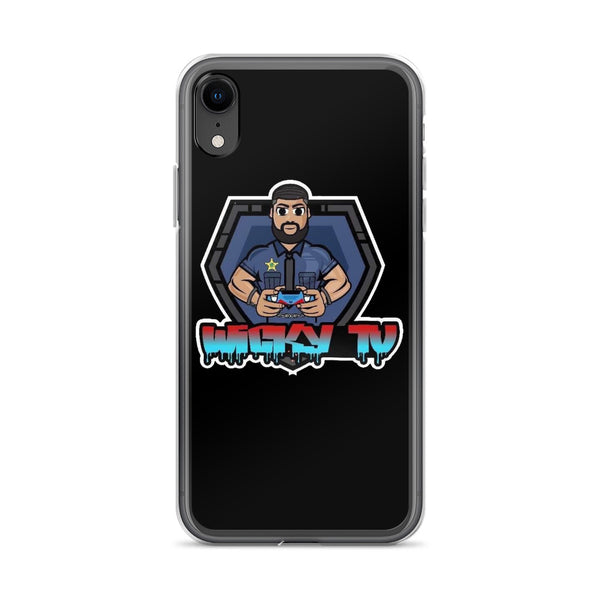 WickyTV iPhone Case