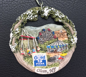 Christmas Ornament - Cloud 9 Park