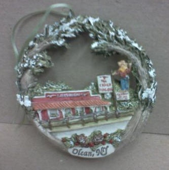 Christmas Ornament - Chuck Wagon Restaurant