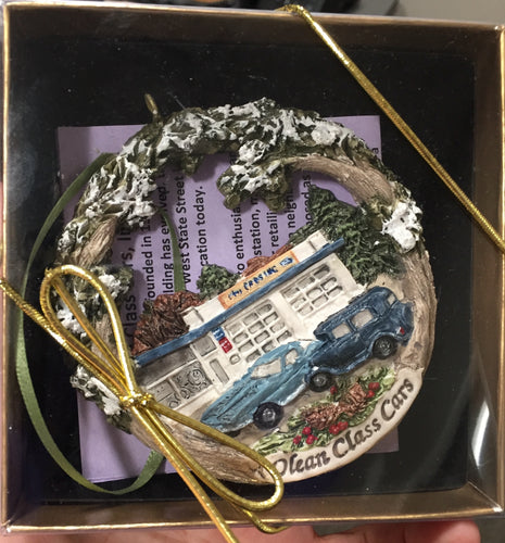 Christmas Ornament - Olean Class Cars