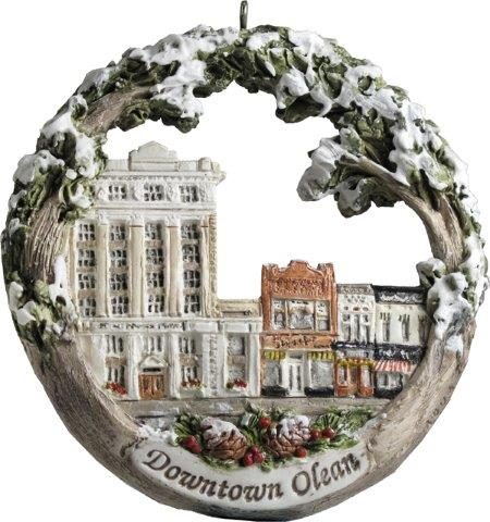 Christmas Ornament - Downtown Olean