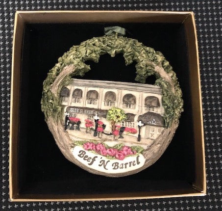 Christmas Ornament - Beef 'N Barrel