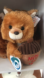 Nuts For You Squirrel Toy