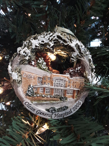 Christmas Ornament - Olean General Hospital