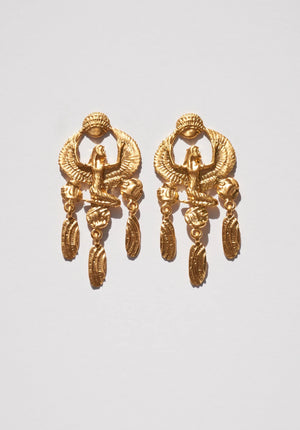 Goddess Aset Isis Earrings