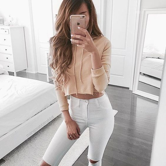 All White Jeans