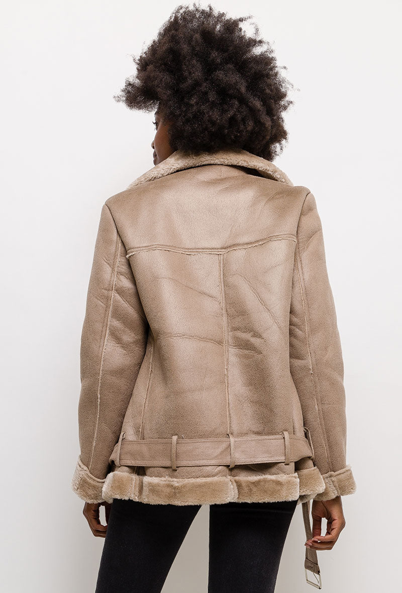 Aviator Coat