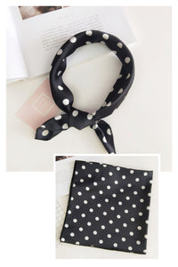 ASCOT BLACK POLKA DOT