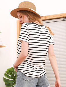EVA STRIPED TOP