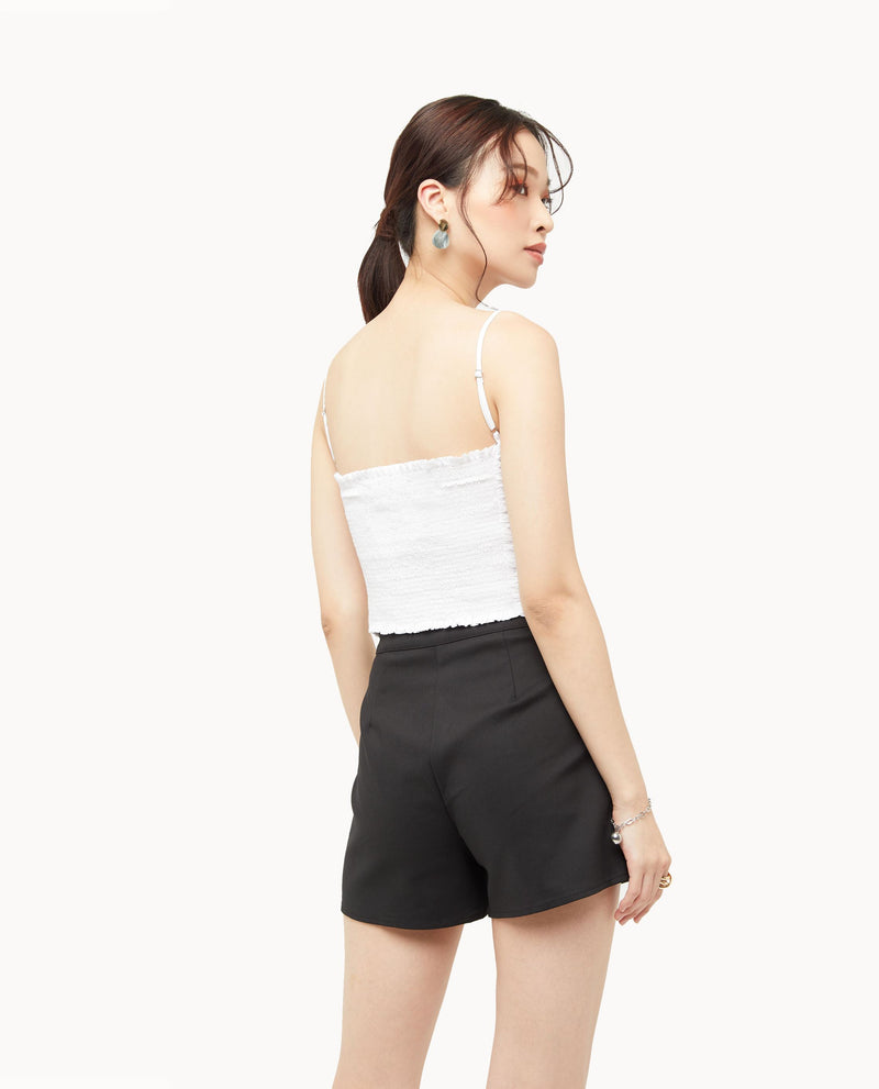 Sephirre Ruched Front Cami Tops OSMOSE-STORES