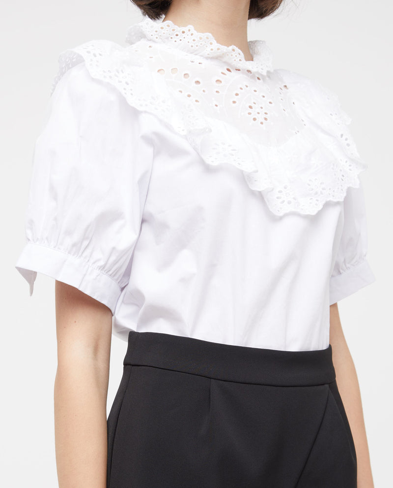 Jovien Broderie Lace Top Tops OSMOSE-STORES