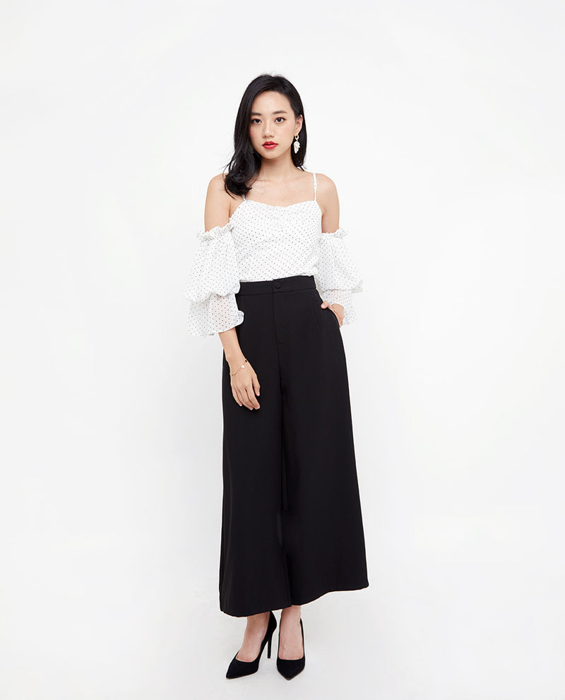 Brigit Chiffon Top Tops OSMOSE-STORES