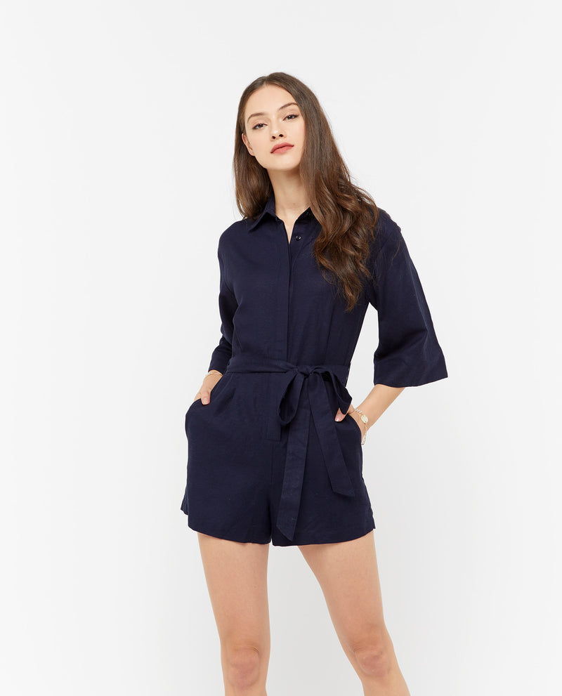 Kaia Shirt Romper Romper OSMOSE-STORES