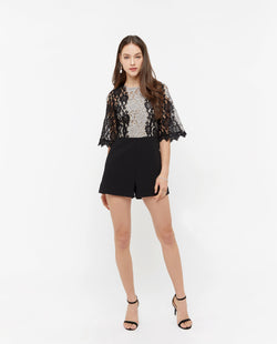 Lewis Lace Layered Romper One-piece suits OSMOSE-STORES