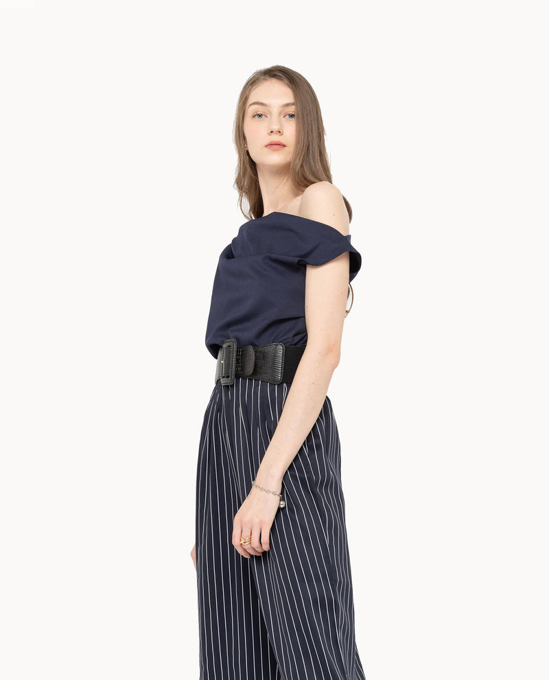 Xerwon Stripe Pants Bottoms OSMOSE-STORES