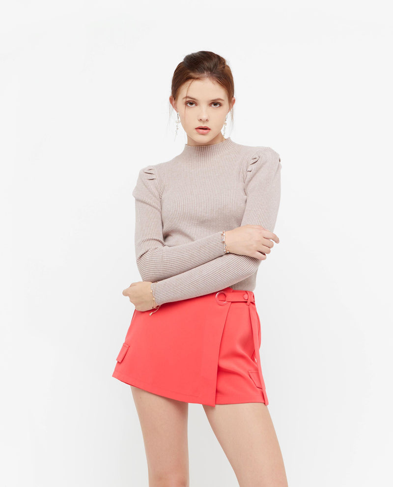 Dion Key Ring Skort Bottoms OSMOSE-STORES XS Pink