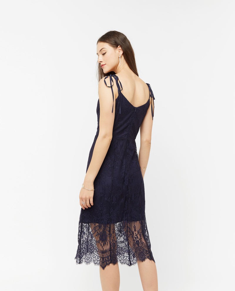 Uvesse Lace Layered Maxi De- Dresses OSMOSE-STORES