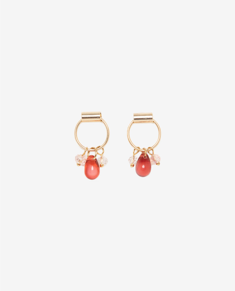 Yvon Pendant Drop Earrings Earrings OSMOSE-STORES