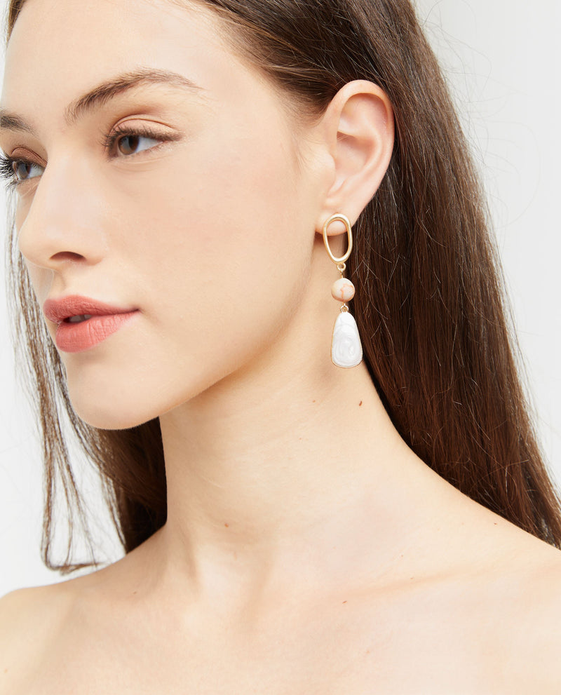 Beverie Crystal Drop Earrings Earrings OSMOSE-STORES