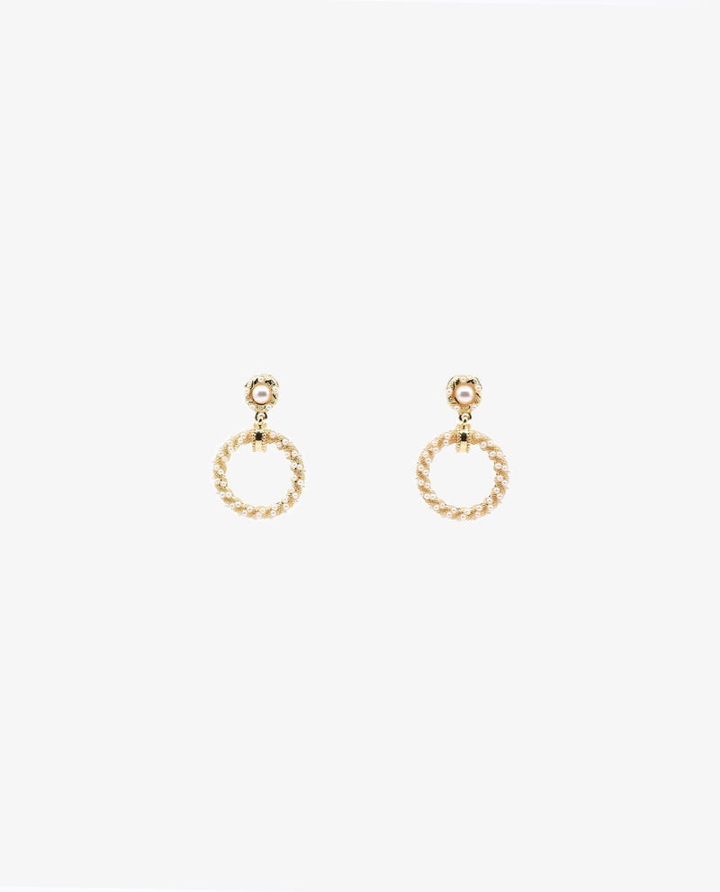 Yarae Pearl Ring Earrings Earrings OSMOSE-STORES