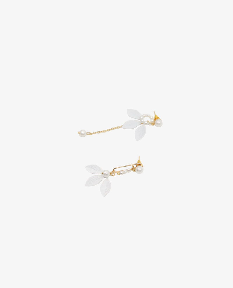 Vita Floral Drop Earrings Earrings OSMOSE-STORES