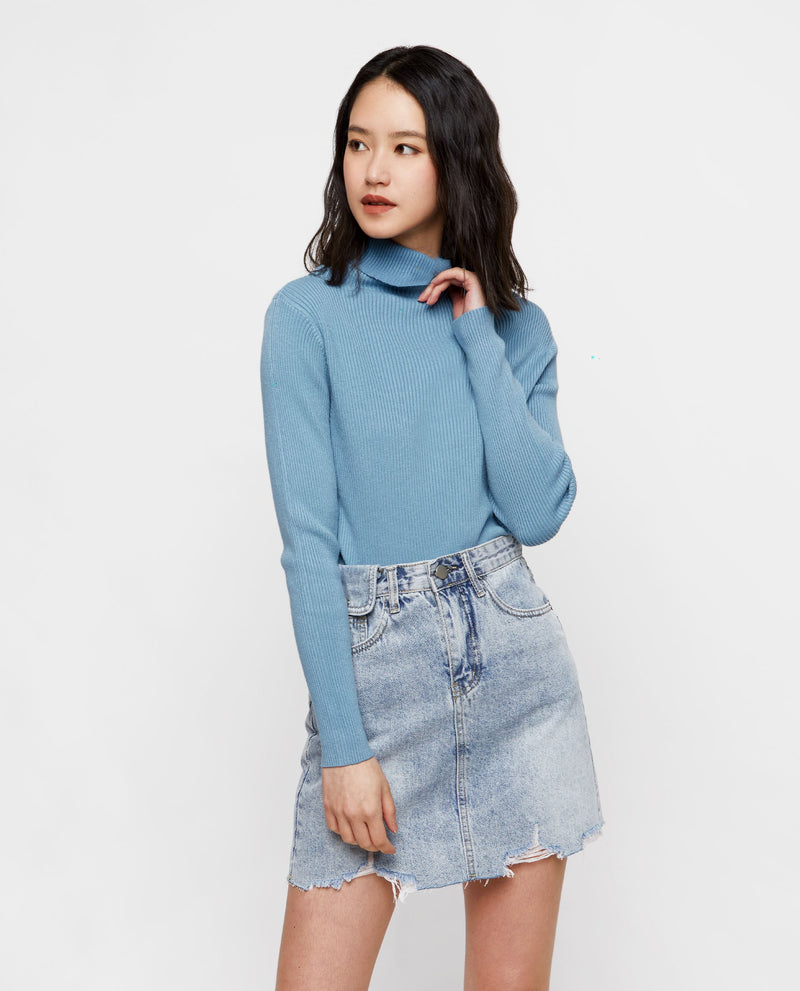 Andie Denim Skirt Short Skirt OSMOSE-STORES