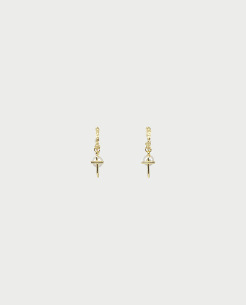 Arie Cross Earrings Earrings OSMOSE-STORES