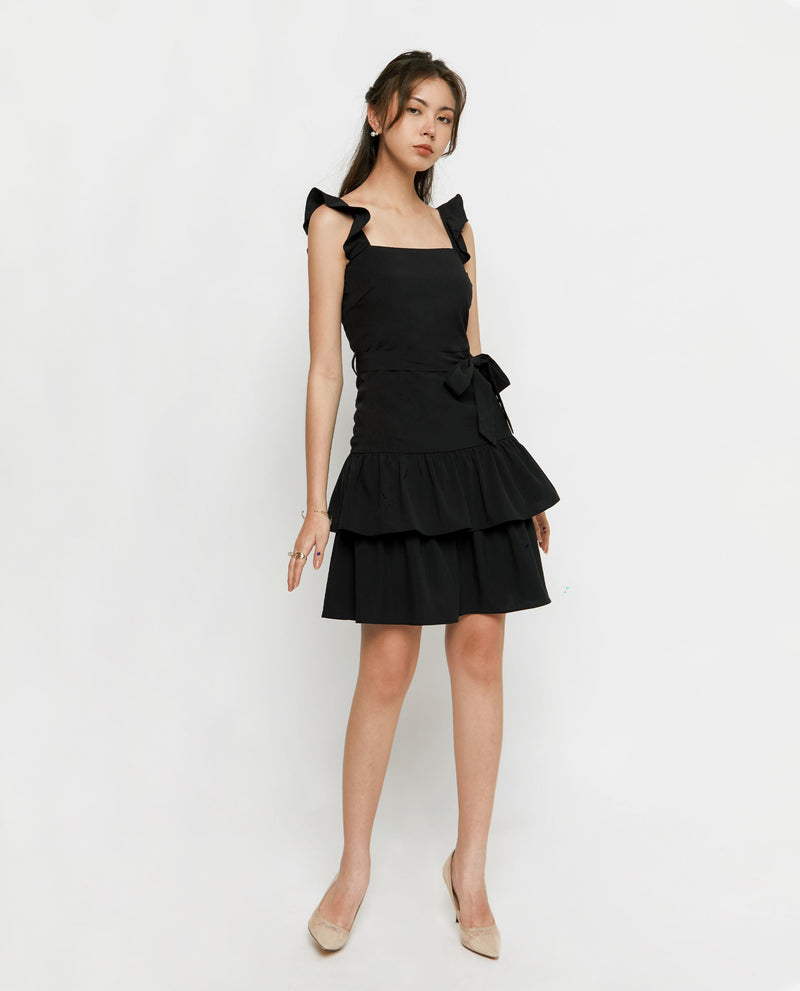 Arliss Ruffled Dress Short Dress OSMOSE-STORES