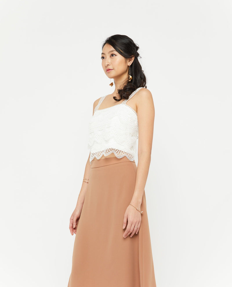 Avery Side Slit Skirt Bottoms OSMOSE-STORES