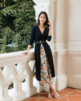 Beeja Cardigan Dress Outerwear OSMOSE-STORES F Black
