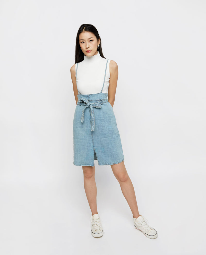Berlyn Denim Dungaree Dress Dungaree OSMOSE-STORES