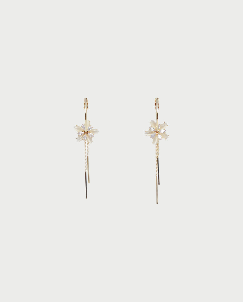 Beryl Floral Drop Earrings Earrings OSMOSE-STORES
