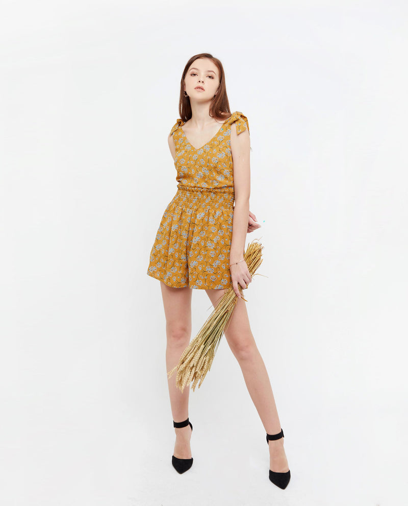 Beva Summer Print Romper One-piece suits OSMOSE-STORES