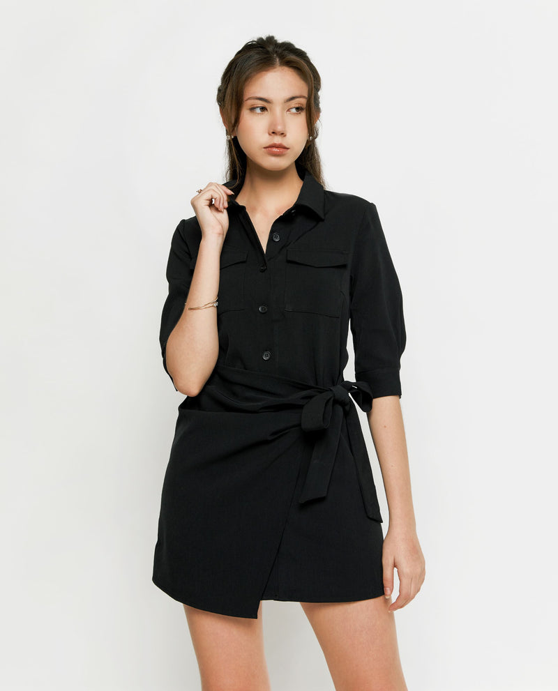 Beverly Shirtdress Short Dress OSMOSE-STORES