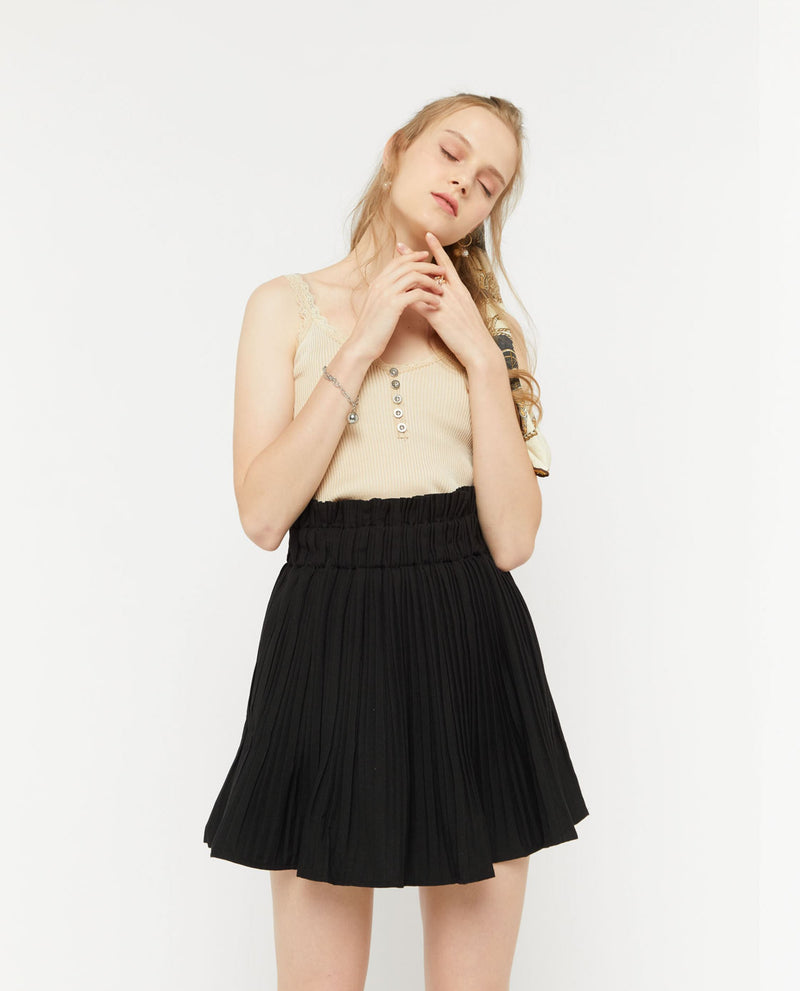 Brigid Pleated Skirt Bottoms OSMOSE-STORES