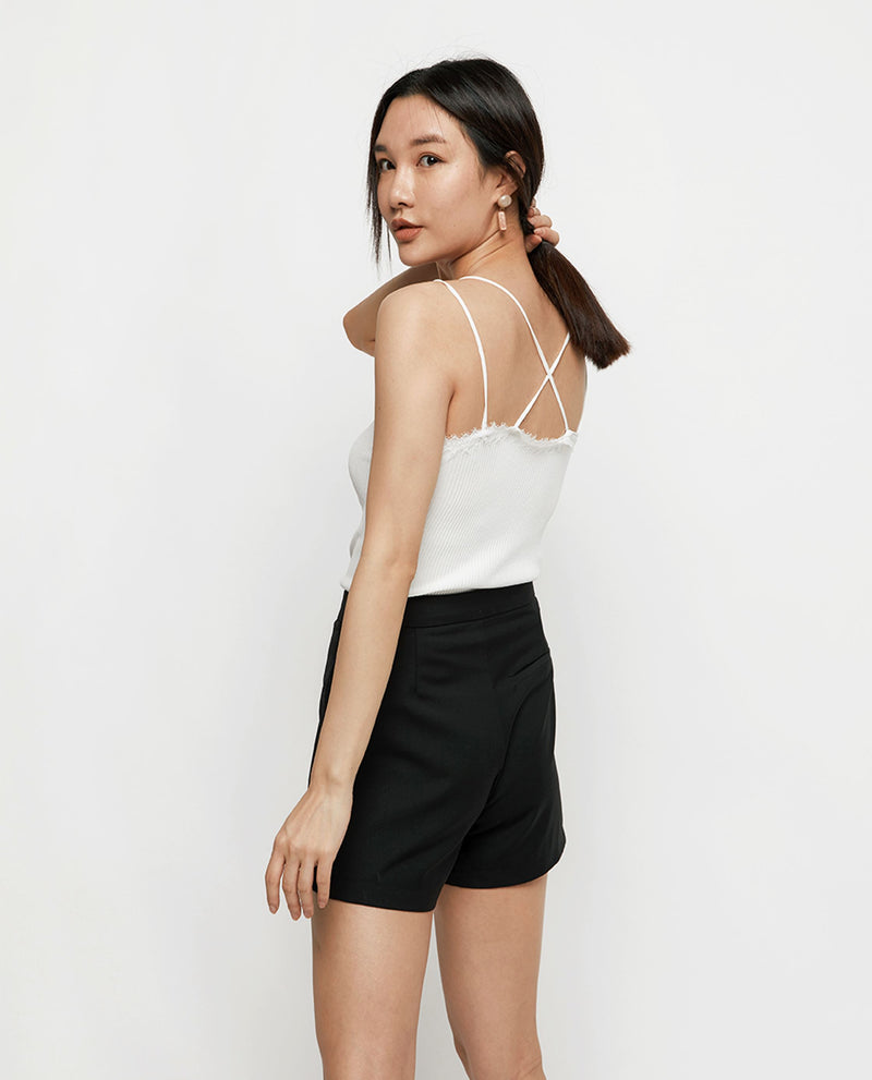 Caprice Lace Trim Cami Tops OSMOSE-STORES