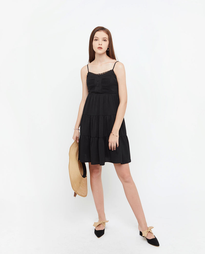 Cassie Lace Dress Dresses OSMOSE-STORES