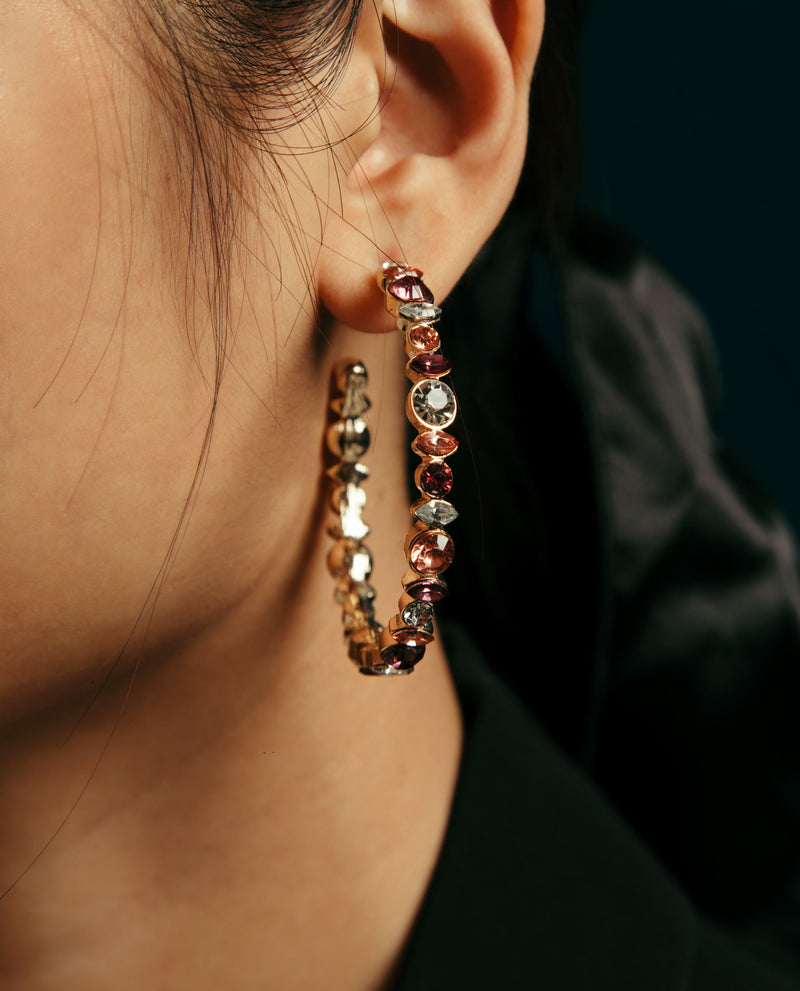 Cate Multi-colour Earrings Earrings OSMOSE-STORES