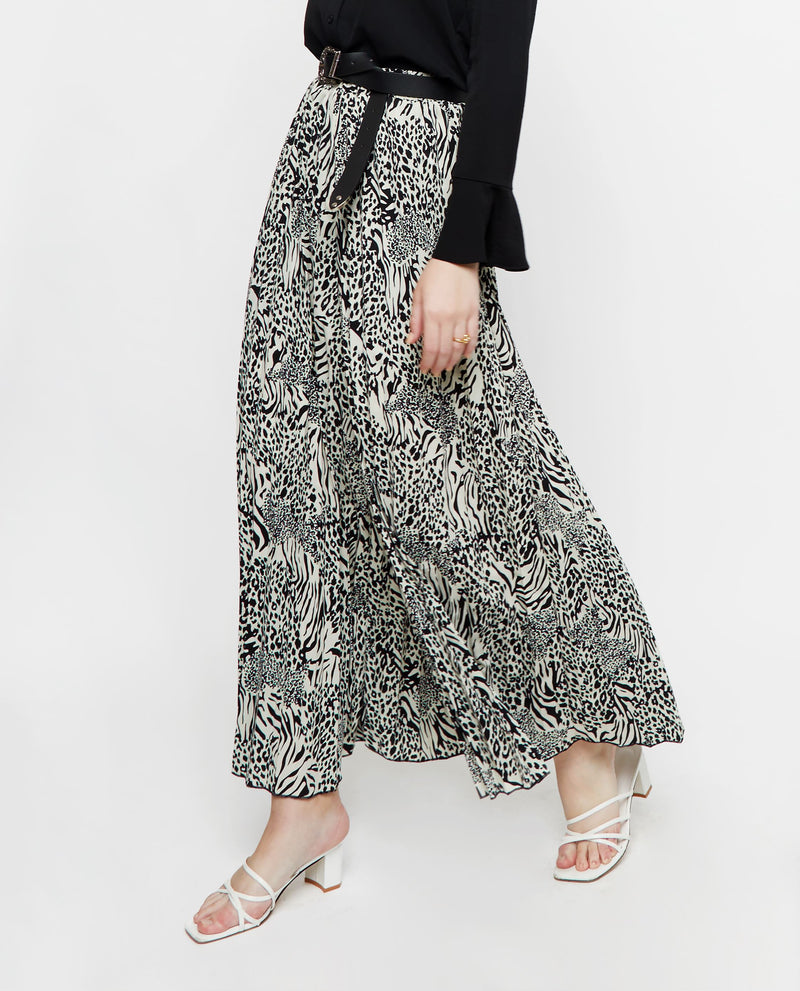 Cedro Printed Flare Pants Culottes OSMOSE-STORES