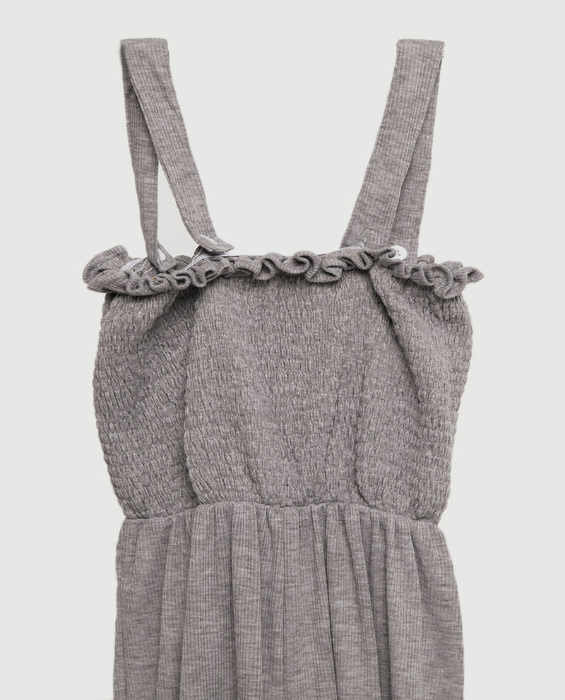 Chloe Smocked Jumpsuit Jumpsuit OSMOSE-STORES