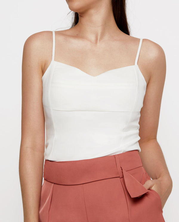 Claude Padded Bustier Top Tops OSMOSE-STORES